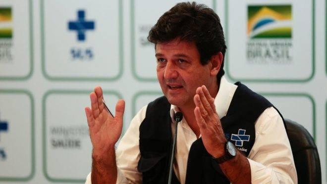Ministro da Saúde, Luiz Henrique Mandetta, assina artigo ao lado de cientistas.