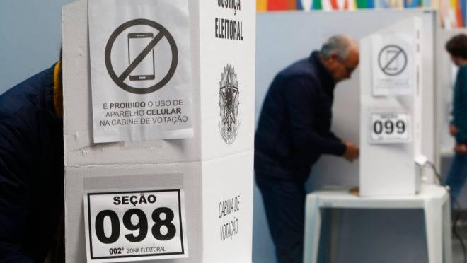 Votação nas eleições de 2018.