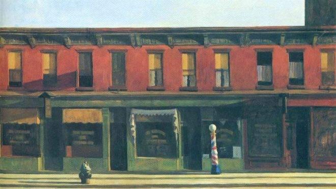 """""""Manhã de Domingo"""". Edward Hopper, 1930"""