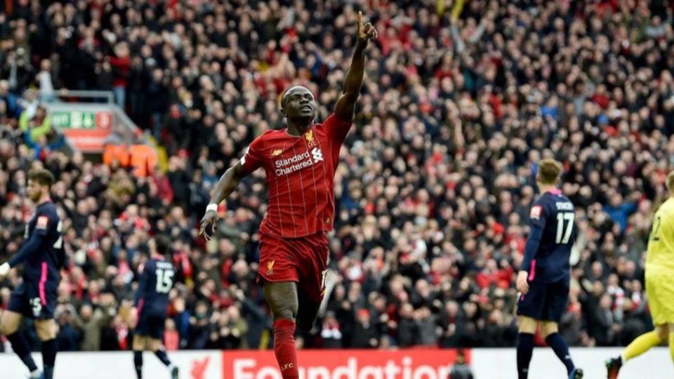 Mané aceita Liverpool ficar sem o título da Premier League por causa do coronavírus