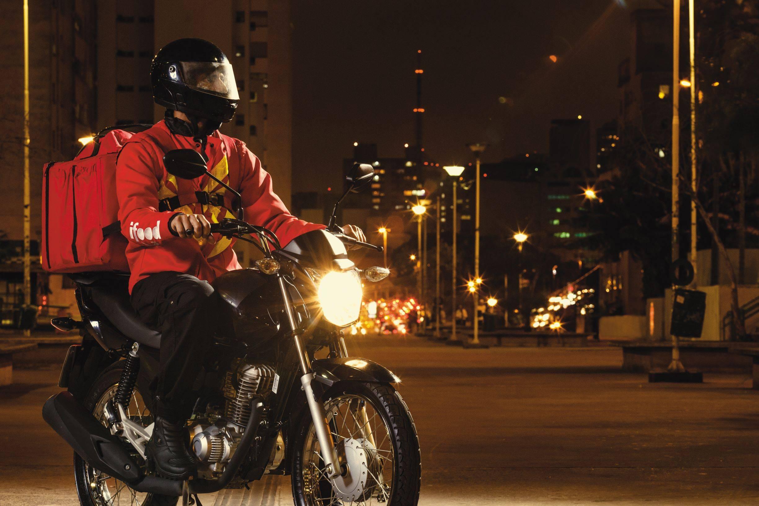 iFood anunciou fundo de R$ 1 milhão para entregadores dos grupos de risco. Foto: divulgação.