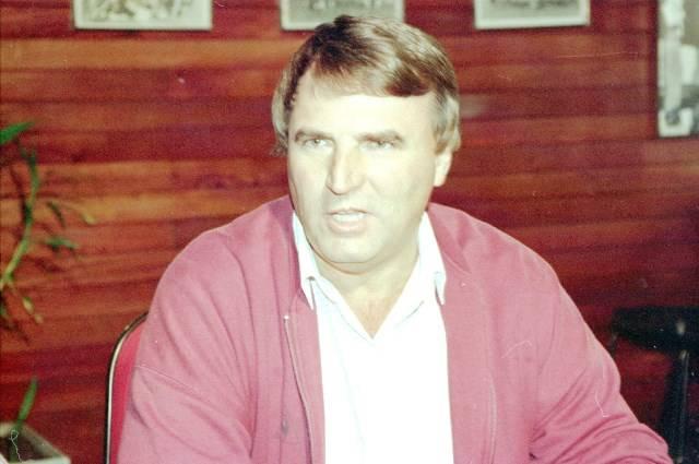 José Carlos Farinhaki, em 1995. Arquivo/Gazeta do Povo
