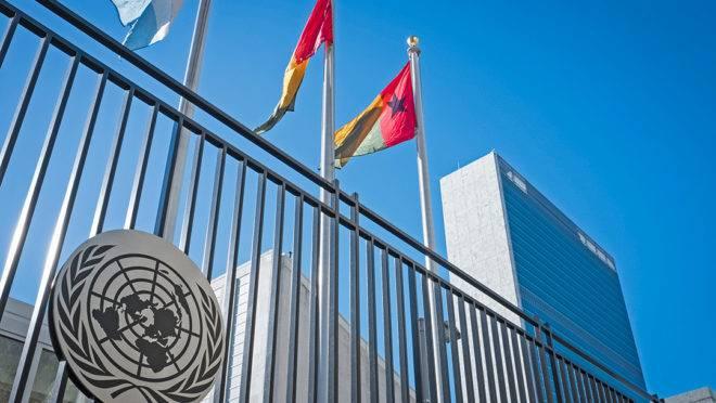 Sede das Nações Unidas em Nova Iorque.
