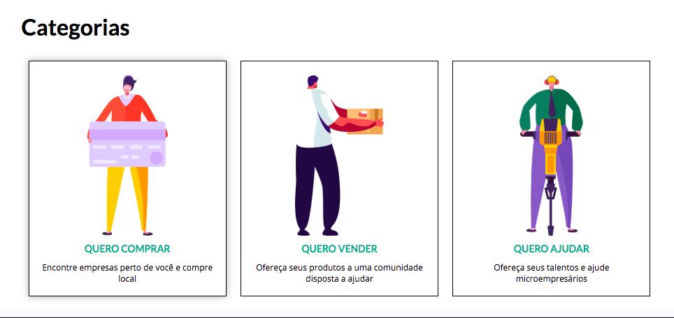 O site O Brasil não parou atua em três frentes. Foto: Reprodução/O Brasil não Parou