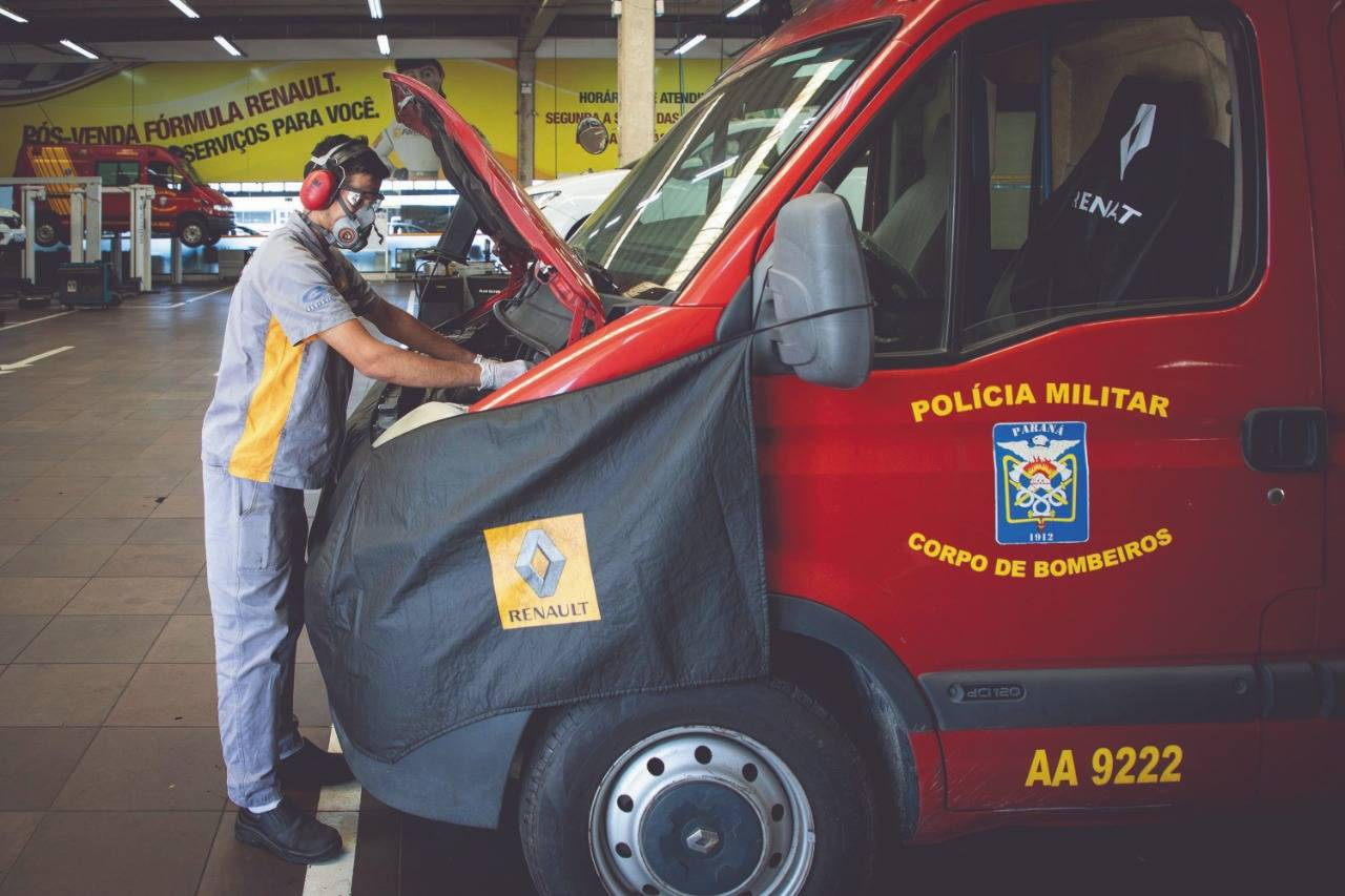 Manutenção gratuita garante disponibilidade das ambulâncias para atendimento emergencial