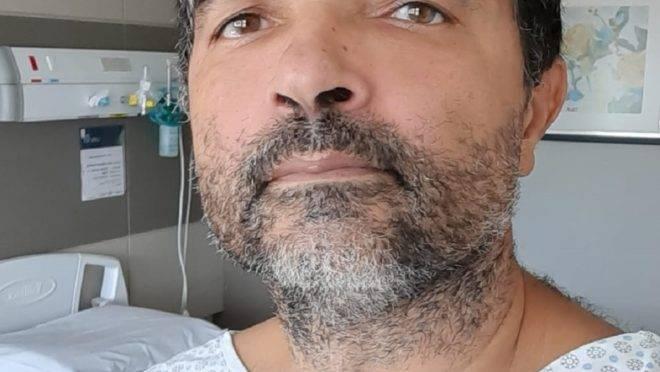 O jornalista Adilson Arantes ficou cinco dias na UTI, com falta de ar por causa do novo coronavírus.