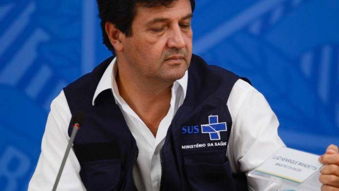 Luiz Henrique Mandetta comandou o Ministério da Saúde por quase um ano e quatro meses: saída ocorre após desgaste com o presidente da República.