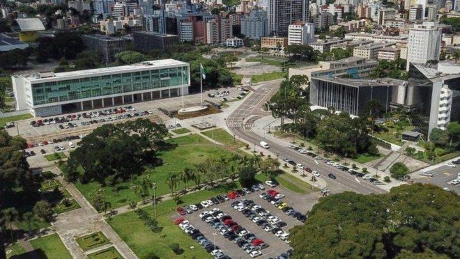 Centro Cívico, em Curitiba