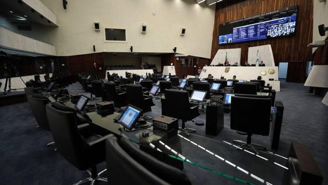 Sessão da Assembleia Legislativa