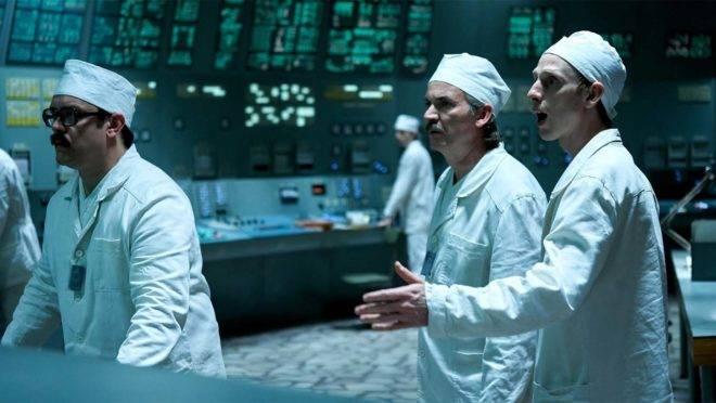 """Cena da minissérie """"Chernobyl"""", do canal HBO: a mentira como modus operandi dos regimes socialistas e das economias planificadas."""