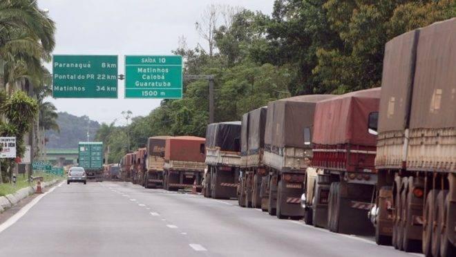 Transporte de cargas vem sentindo os efeitos da pandemia. (foto ilustrativa)
