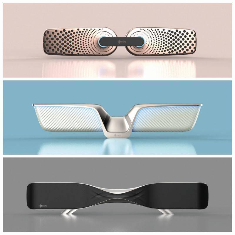 """Sistema Smart Audio, da Noveto, cria uma espécie de """"bolha"""" invisível que silencia ruídos em uma distância de 50 cm.  Foto: Divulgação"""