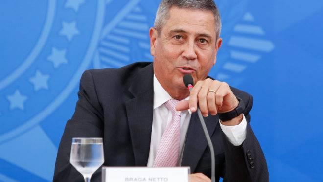Chefe da Casa Civil, ministro Braga Netto