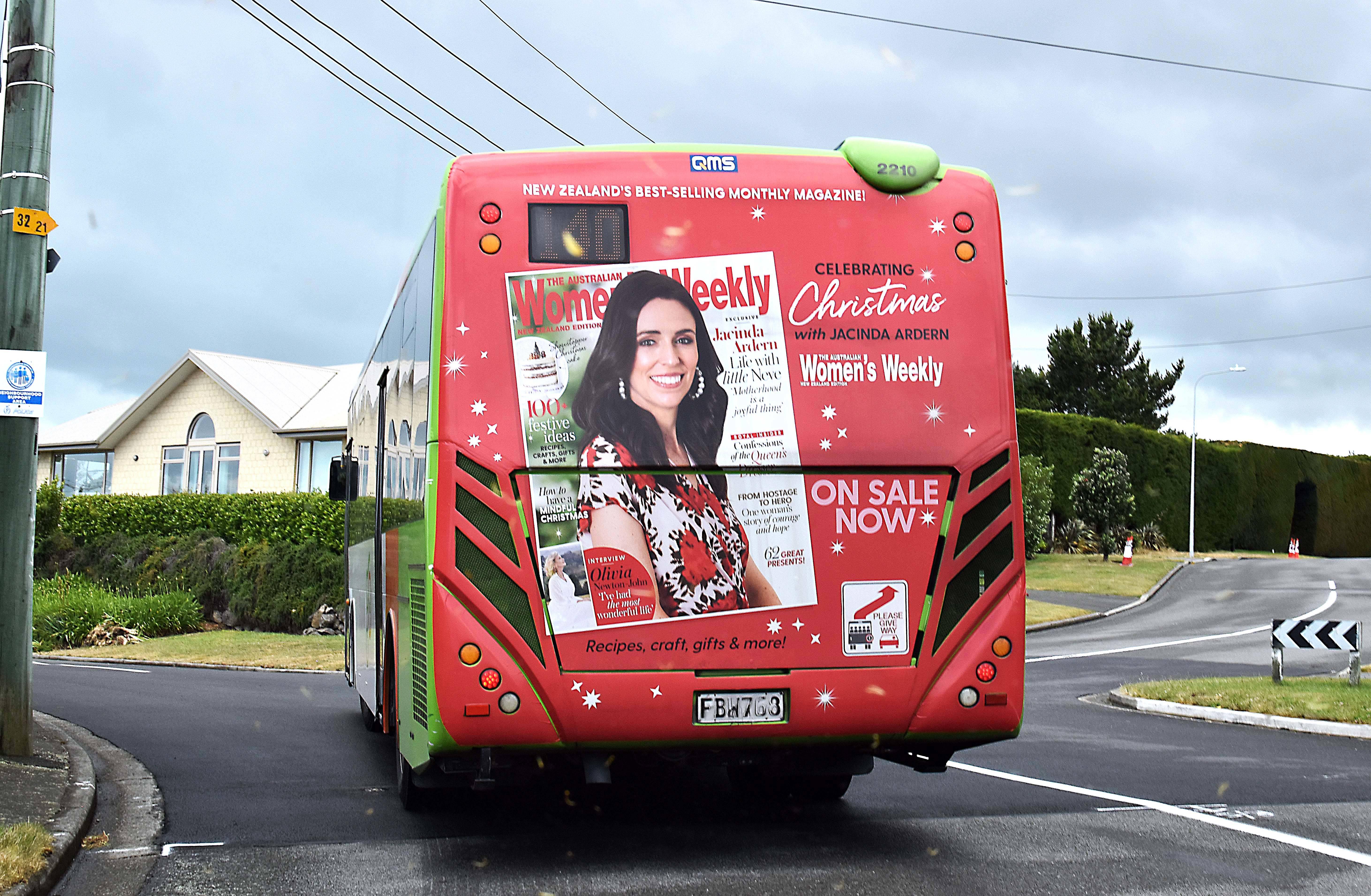 Primeira-ministra da Nova Zelândia vira capa da revista mais lida da Austrália. Foto: Divulgação