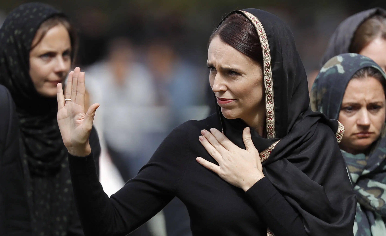 Jacinda Ardern em encontro com muçulmanos. Foto: Divulgação/Flickr