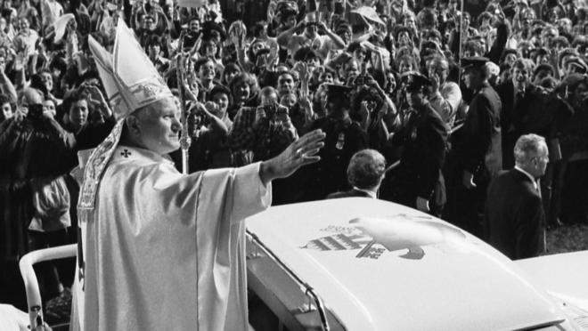 O papa João Paulo II, em foto de 1979.
