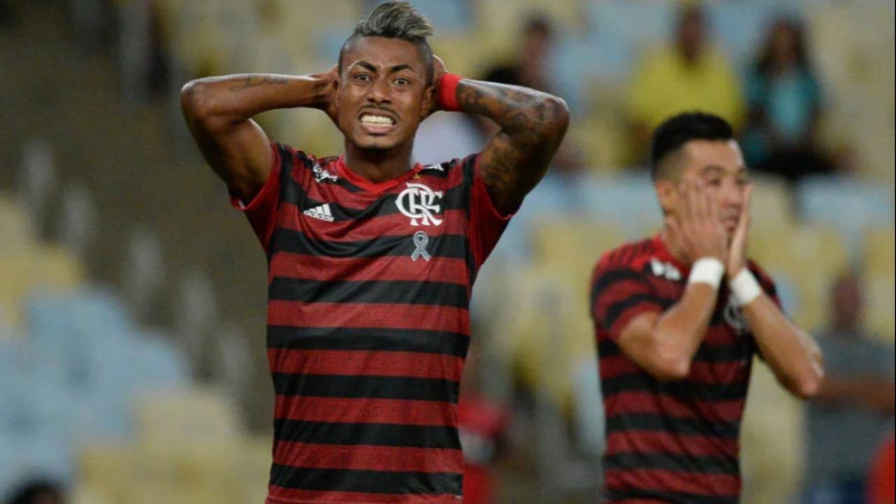 Bruno Henrique, assim como o restante do elenco, ainda não teve o salário reduzido, mas a tendência é que isso ocorra em breve. Foto:  Alexandre Vidal, Flamengo.