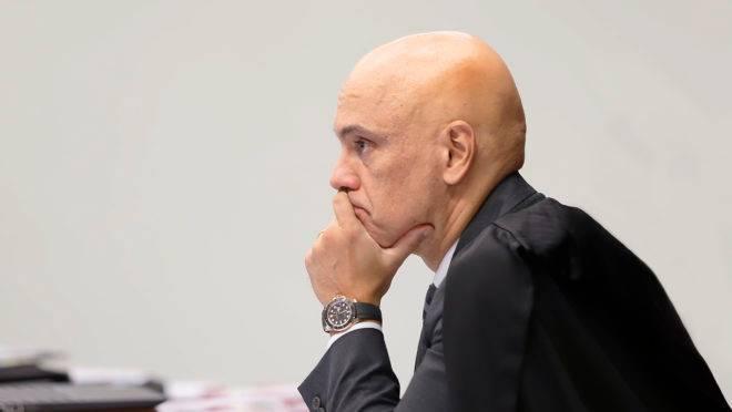 O ministro do STF Alexandre de Moraes foi indicado para a vaga pelo ex-presidente Michel Temer