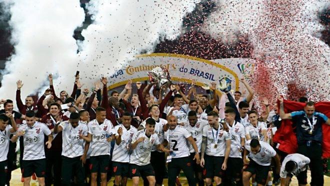 Premiação do título da Copa do Brasil em 2019 colaborou nas arrecadações do Athletico