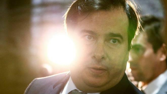 Em vídeo, homem fez ameaças ao presidente da Câmara, Rodrigo Maia.