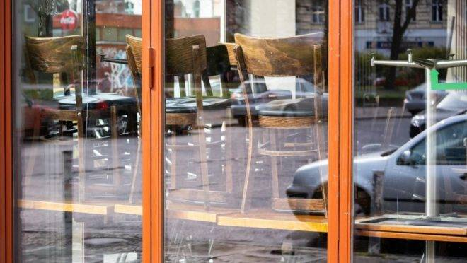 Restaurante fechado