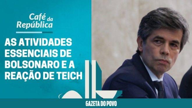 As novas atividades essenciais de Bolsonaro e a reação do ministro da Saúde