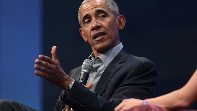 O ex-presidente dos Estados Unidos Barack Obama, em foto de setembro de 2019. Obama disse que a decisão do Departamento de Justiça dos EUA de retirar as acusações contra Michael Flynn é uma ameaça ao Estado de Direito