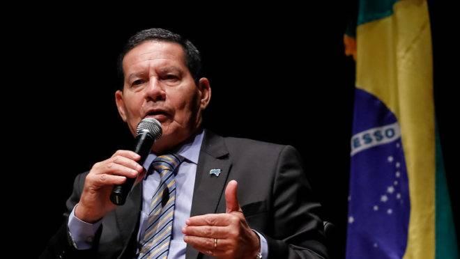 Vice-presidente Hamilton Mourão defendeu retomada da proposta de uma nova CPMF