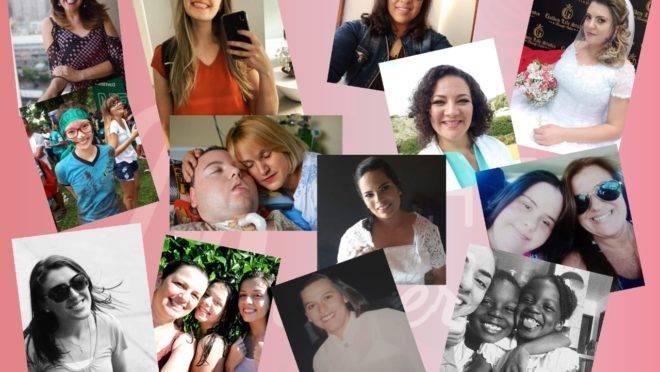 Foto das mulheres que já contaram suas histórias para a página