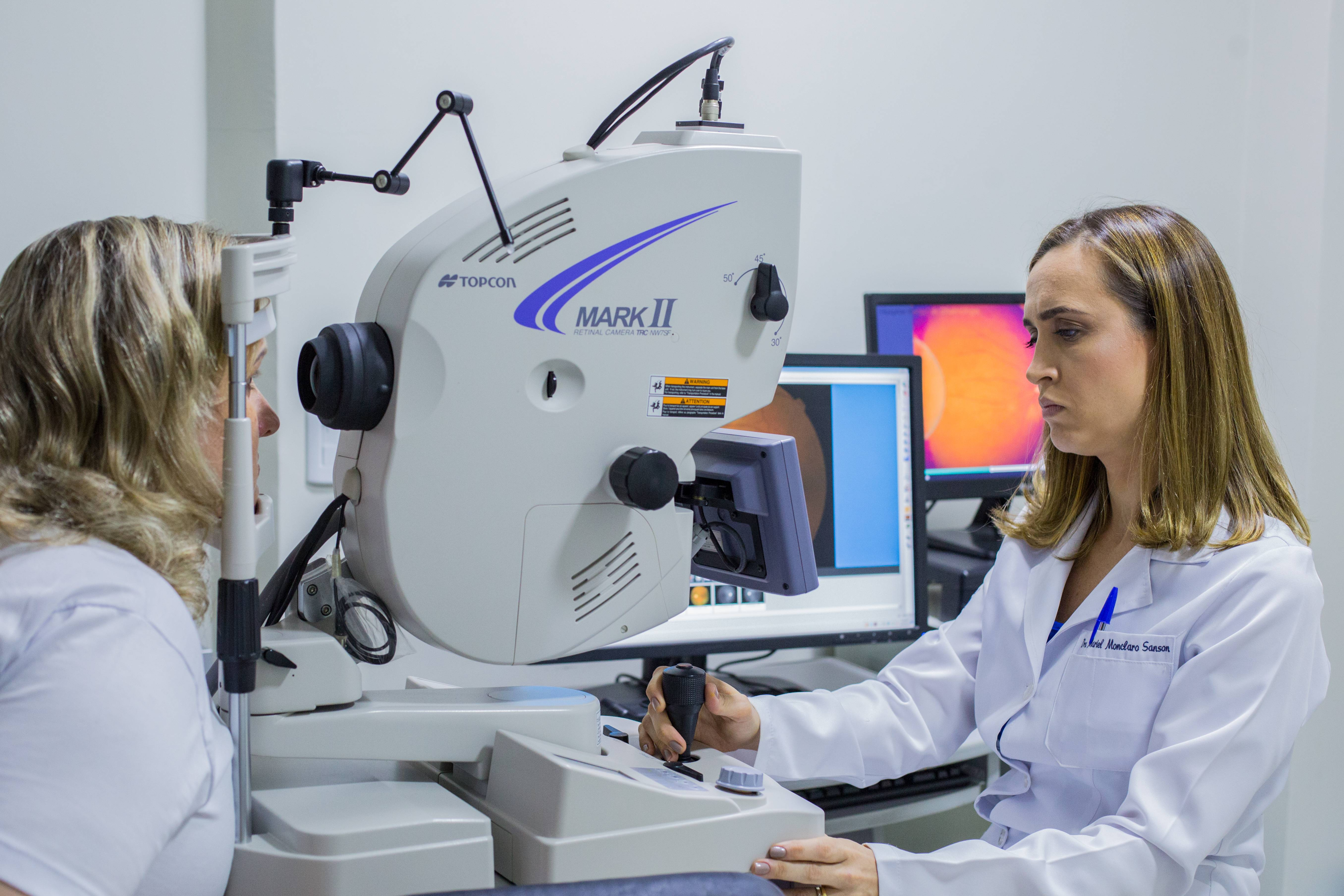 Os exames solicitados, farão o médico entender qual o tipo de glaucoma presente e qual a gravidade da doença naquele momento