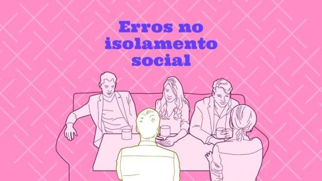 O isolamento social deve ser seguido à risca por quem não têm necessidade de sair de casa