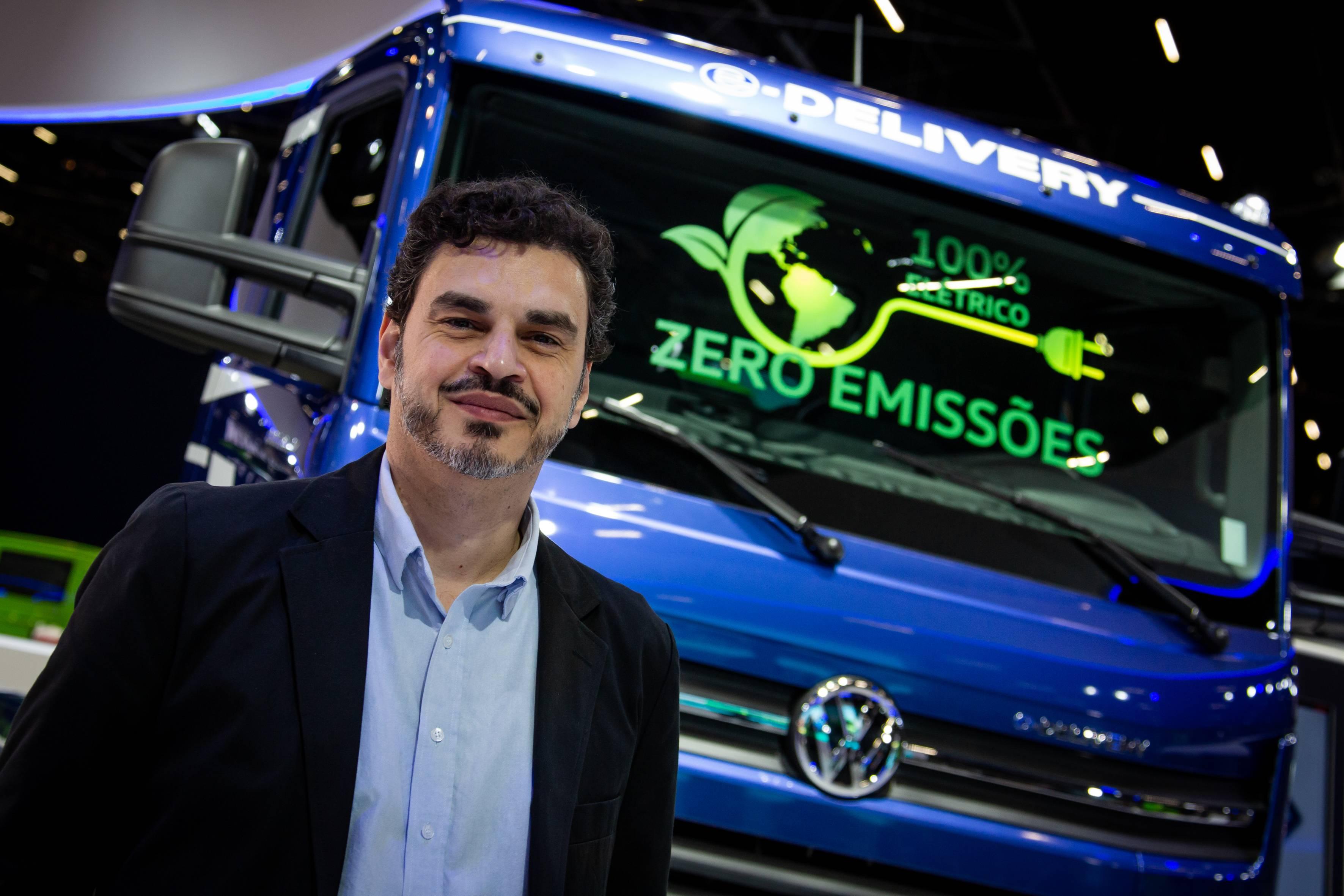 Walter Pellizzari Junior, gerente de estratégia corporativa e planejamento e-Mobility da VW Caminhões e Ônibus.