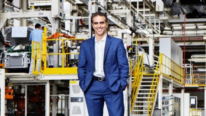 O presidente da Volkswagen do Brasil, Pablo Di Si.