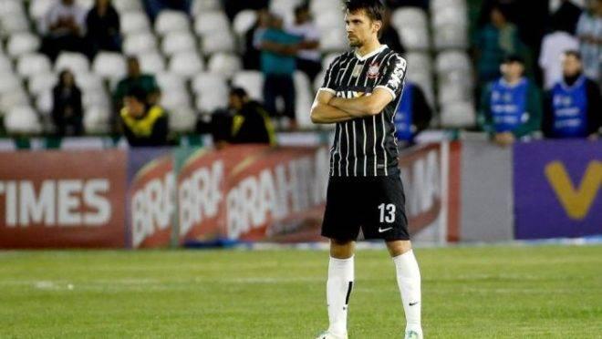 Paulo André na época de Corinthians.