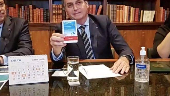 Bolsonaro defende cloroquina