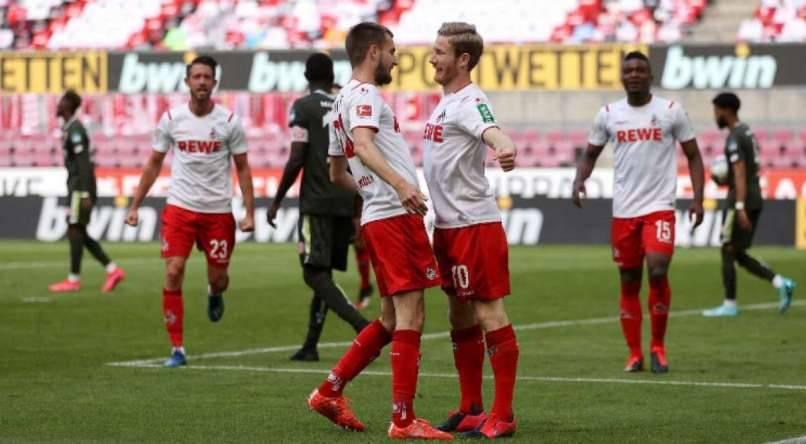Mainz e Colônia empataram em 2 a 2.