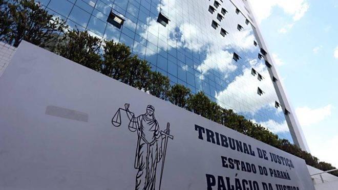 Sede do Tribunal de Justiça, no Centro Cívico, em Curitiba