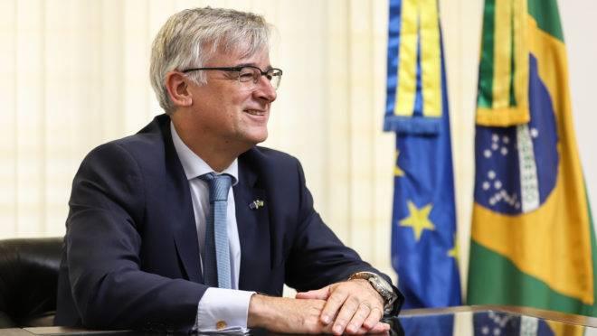 O embaixador da União Europeia no Brasil, Ignacio Ybáñez, fala sobre acordo com Mercosul e crise do coronavírus