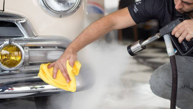 Treze anos dedicados à limpeza a vapor