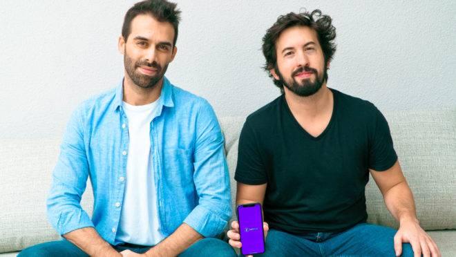 Os sócios José Simões e Rui Brandão.