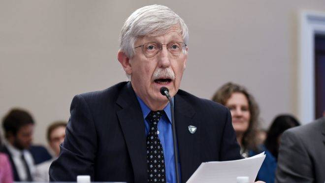 Francis Collins, diretor do National Institutes of Health