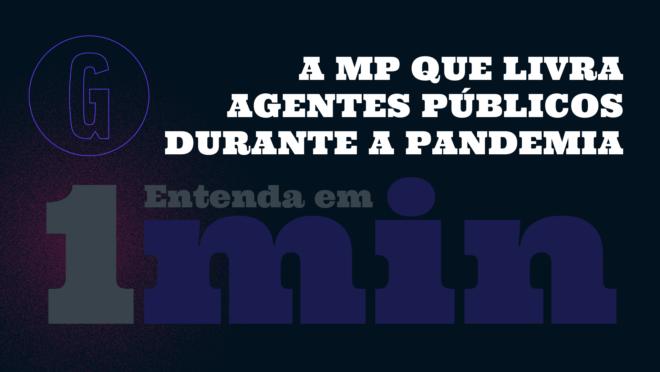 O presidente Jair Bolsonaro editou uma medida provisória que isenta agentes públicos por ação e omissão em atos relacionados à pandemia do novo coronavírus