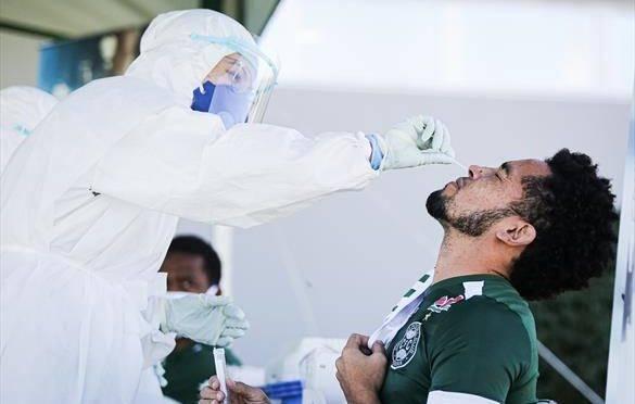 Meia-atacante Rafinha também foi testado. Foto: Divulgação, Coritiba