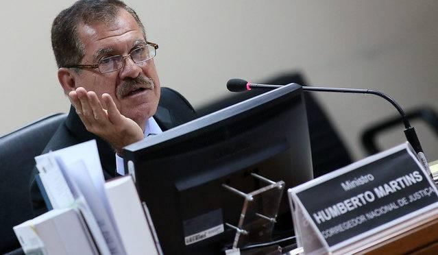 Corregedor nacional de Justiça, ministro Humberto Martins