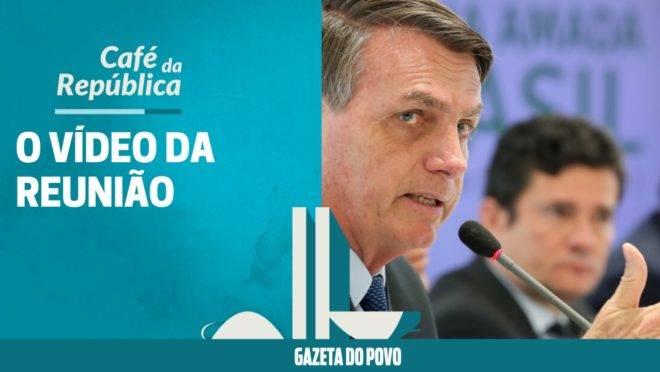 O vídeo da reunião de Bolsonaro com ministros. E as leis do coronavírus
