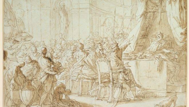 """""""A espada de Dâmocles"""", do artista italiano Giuseppe Piattoli"""