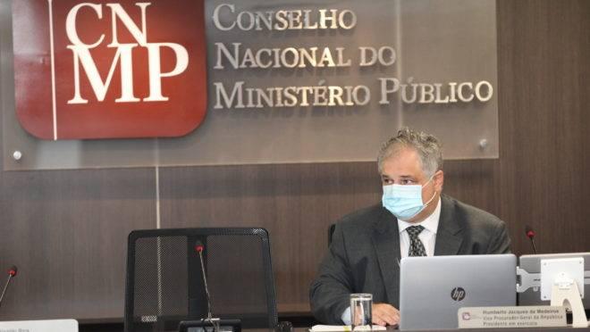 Sessão ordinária do Conselho Nacional do Ministério Público.