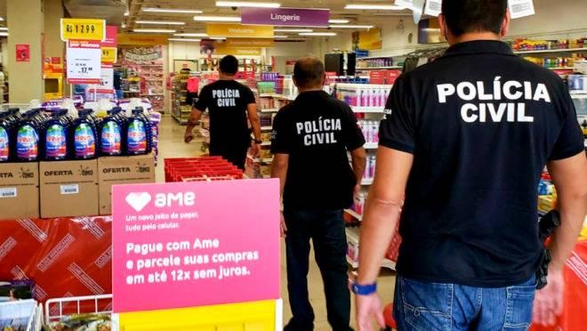 Polícia Civil faz blitz em lojas do Pará a fim de fiscalizar cumprimento do lockdown: foi o STF que deu poderes aos tiranetes.