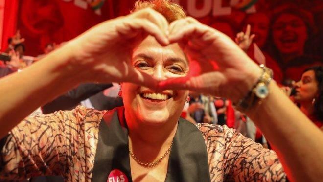Dilma Rousseff foi candidata a senadora por Minas Gerais nas eleições de 2018, mas terminou apenas em quarto lugar na votação.