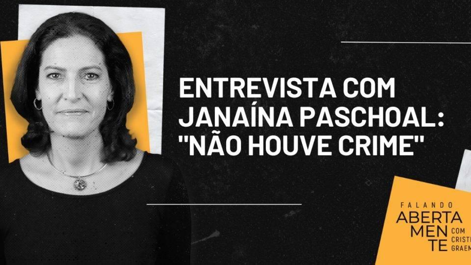 """Entrevista exclusiva com Janaína Paschoal: """"Não tem crime ali naquele vídeo"""""""